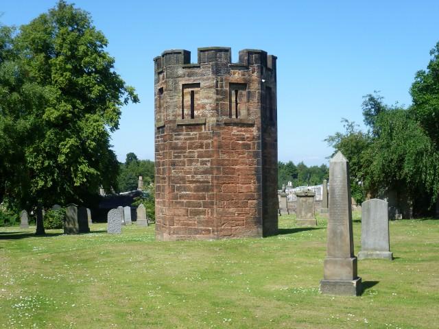 Watchtower,_Dalkeith_Cemetery